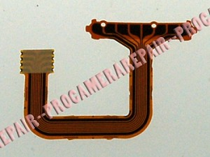 MAMIYA 645 AFD II REAR PLATE CONTACT BRIDGE RIBBON CABLE FLEX FPC