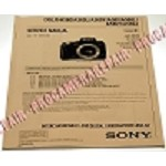 SONY ALPHA DSLR-A560 A580 VER. 1.0 PAPER SERVICE MANUAL