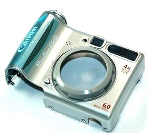 CANON POWERSHOT A540 FRONT COVER ASSEMBLY PART