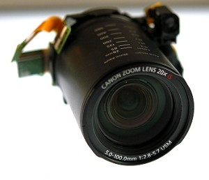 CANON SX1is OPTICAL ZOOM LENS