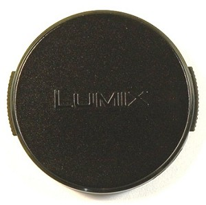 PANASONIC LUMIX DMC-LX3 BLACK FRONT LENS CAP 39MM
