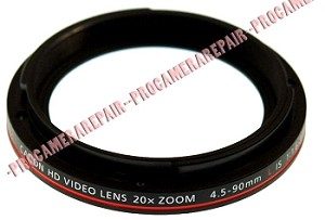 CANON XH-A1 XH-A1S CAMCORDER LENS FRONT RING
